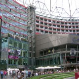 Sony Center a Potsdamer platz, Berlino