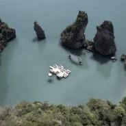 Cinema galleggiante In Thailandia